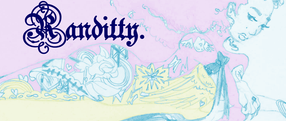 Randitty logo with Ink the Sphinx in her tattoos.