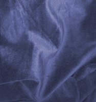 Blue velvet cloth